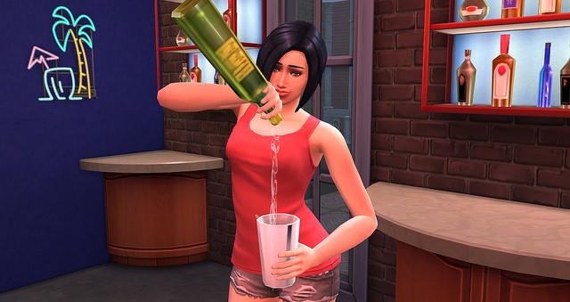 Mixology Skill at Sims Vip image 5718 Sims 4 Updates