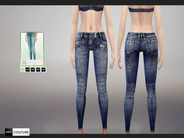 Skinny Fit Jeans by MissFortune at The Sims Resource image 5816 Sims 4 Updates