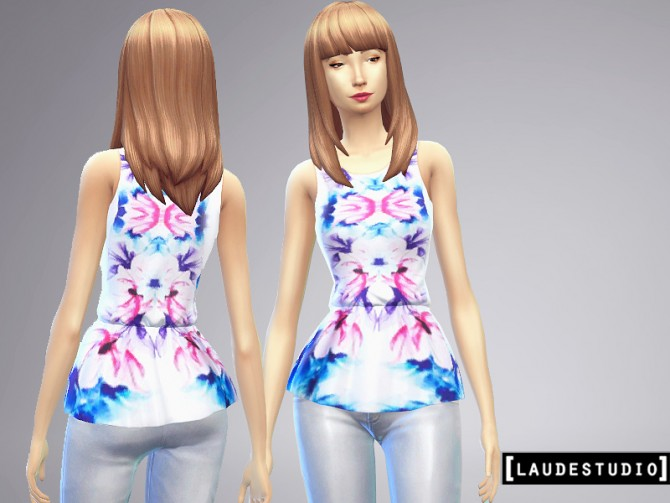 3 Peplum blouses at Laude Studio image 5822 Sims 4 Updates