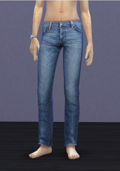 Sims 4 S4 Frame denim at Rusty Nail