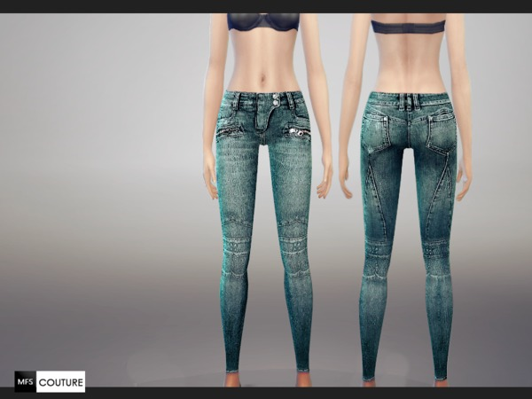 Skinny Fit Jeans by MissFortune at The Sims Resource image 5913 Sims 4 Updates