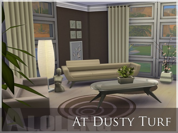 Sims 4 Dusty Turf house by aloleng at The Sims Resource