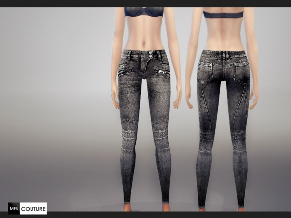 Skinny Fit Jeans by MissFortune at The Sims Resource image 6011 Sims 4 Updates