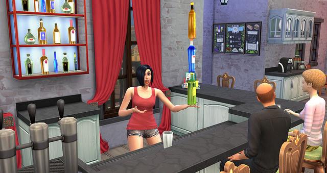 Mixology Skill at Sims Vip image 6013 Sims 4 Updates