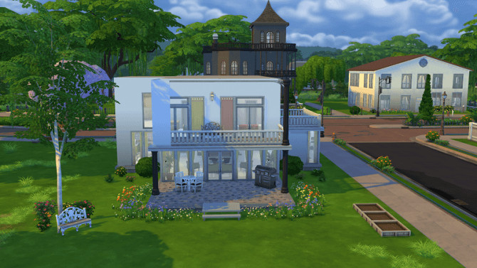 Modern House 1 By Michaela P At 19 Sims 4 Blog Sims 4