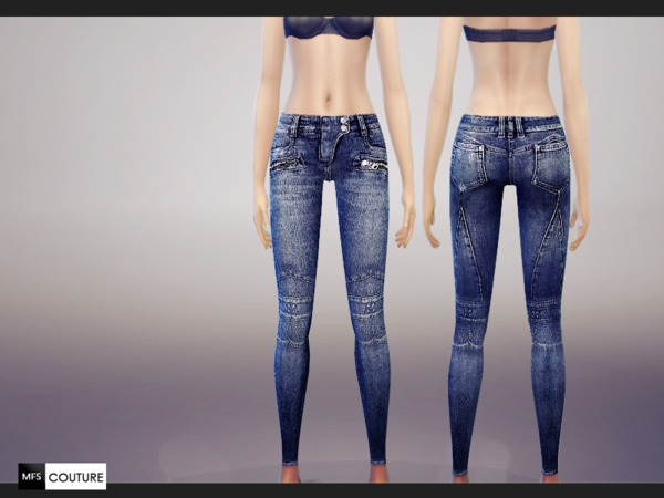 Skinny Fit Jeans by MissFortune at The Sims Resource image 6118 Sims 4 Updates