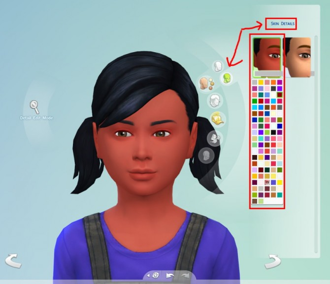 95 Skin Overlay Colors at The Simsperience image 6136 Sims 4 Updates