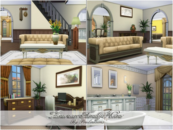 American Family Home by Pralinesims at TSR image 6138 Sims 4 Updates