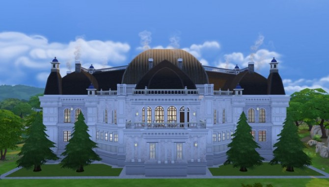 Palace   house 08 by ggoyam at My Sims House image 6158 Sims 4 Updates