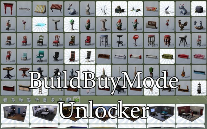 Sims 4 Build Buy Mode Unlocker by scripthoge at Mod The Sims
