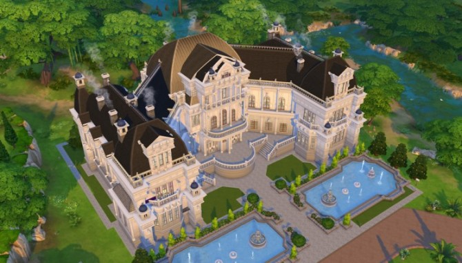 Palace House 08 By Ggoyam At My Sims 4 Updates