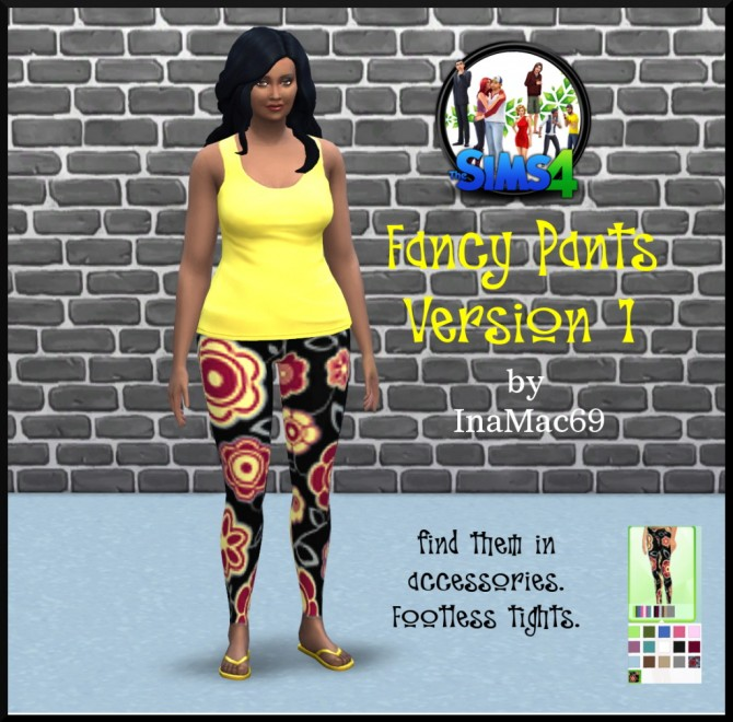 Fancy Leggings by InaMac69 at Simtech Sims4 image 6310 Sims 4 Updates