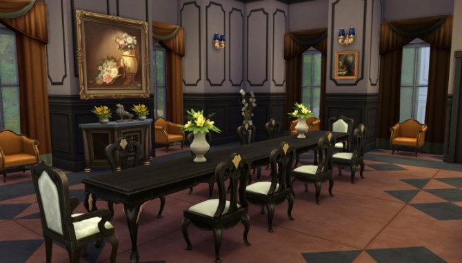 Palace   house 08 by ggoyam at My Sims House image 6430 Sims 4 Updates