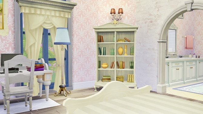 Felicity Guest Bed and Bath at Simkea image 6516 Sims 4 Updates