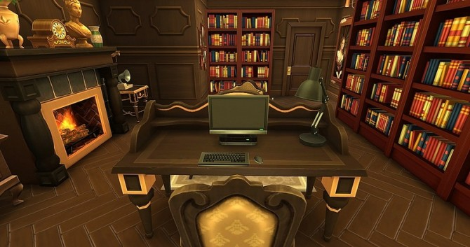 Old Classics Home Library And Study By Dolkin At