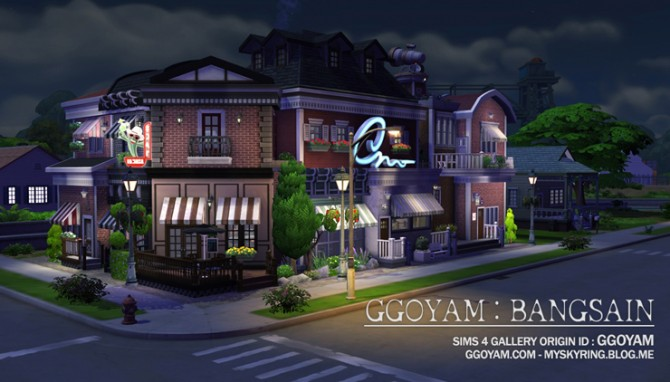 Lot 09 By Ggoyam At My Sims House Sims 4 Updates
