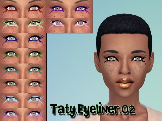 Sims 4 Eyeliner 02 at Taty – Eámanë Palantír