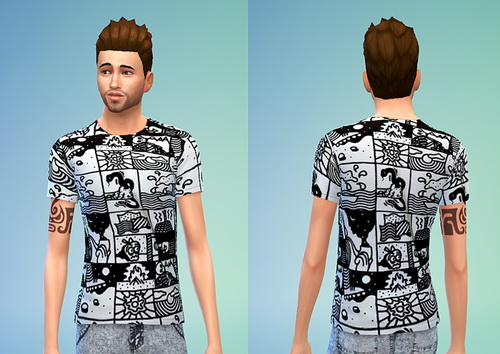 Lazy Oaf T Shirt Set #2 at Sims 4 Sweetshop image 6715 Sims 4 Updates