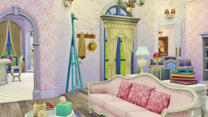 Felicity Living Room at Simkea image 6817 Sims 4 Updates