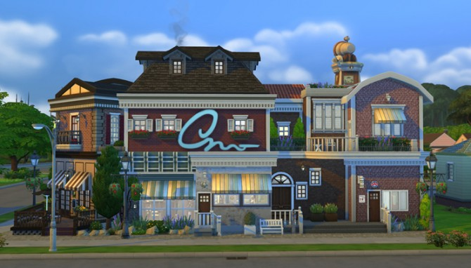 Lot 09 by ggoyam at My Sims House » Sims 4 Updates