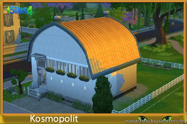 Sims 4 Hip & Cool house by Kosmopolit at Blacky's Sims Zoo