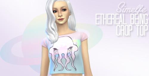 Sims 4 Tops, jacket, skirt, leggings at Simelfe