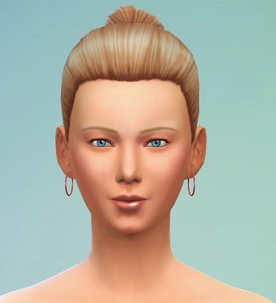 Sims 4 Hoop earrings set 1 at 19 Sims 4 Blog
