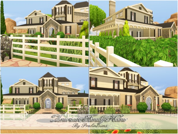American Family Home by Pralinesims at TSR image 7135 Sims 4 Updates