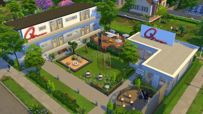 Sims 4 Onesimus Arcadium No CC by jamzkie143 at Mod The Sims