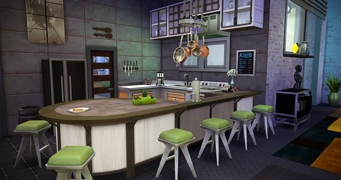 Sims 4 Hangar Réaménagé at Simsontherope
