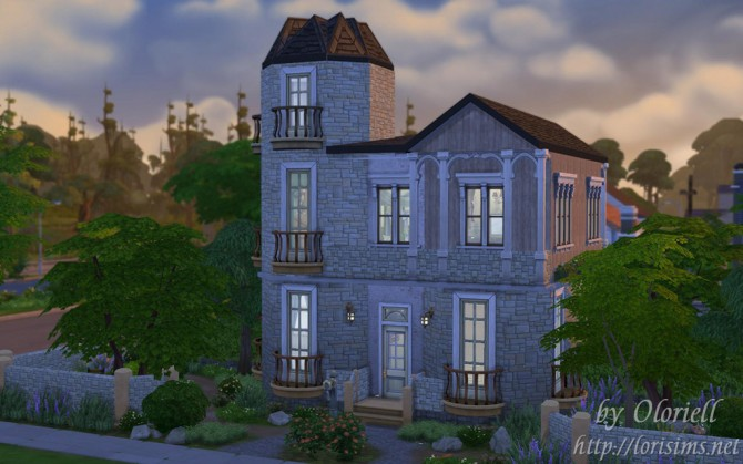 Old house by oloriell at lori sims sims 4 updates for Classic house sims 4