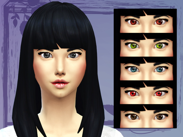 Sims 4 Crystal Eyes by Black Phoenix at The Sims Resource