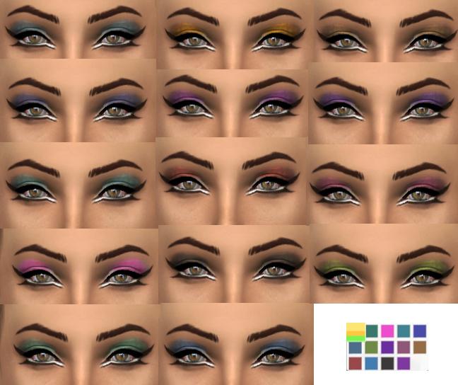 Sims 4 Eyeshadow at Simply Simming