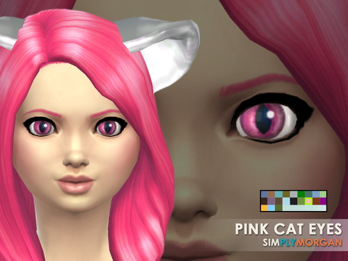 Cat Eyes 5 Non Default Colors at Simply Morgan image 7517 Sims 4 Updates