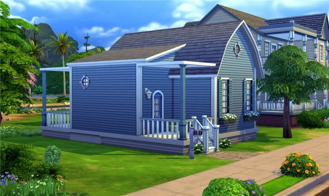 Sims 4 Blue Dream house by ihelen at ihelensims