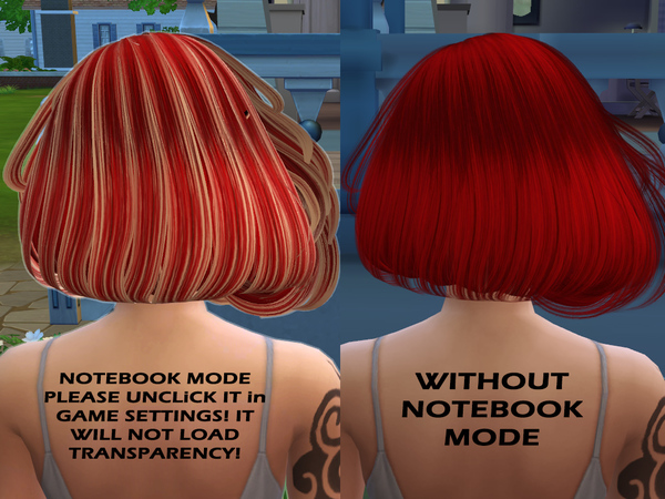 Sims 4 Scarlet hair for Sims 4 by Sintiklia at TSR