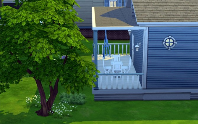 Blue Dream house by ihelen at ihelensims image 7711 Sims 4 Updates