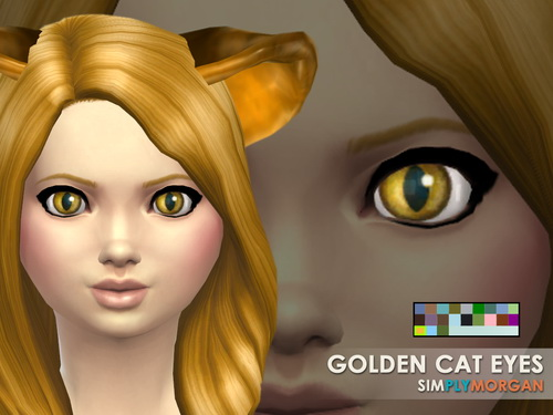 Cat Eyes 5 Non Default Colors at Simply Morgan image 7715 Sims 4 Updates