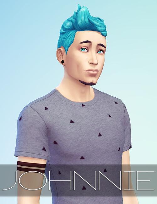 Sims 4 Johnnie Zhang at Msft Jae