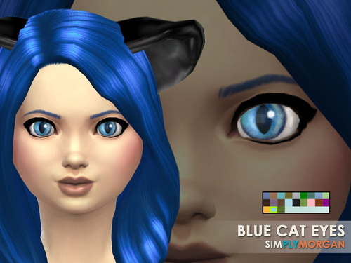 Cat Eyes 5 Non Default Colors at Simply Morgan image 7917 Sims 4 Updates