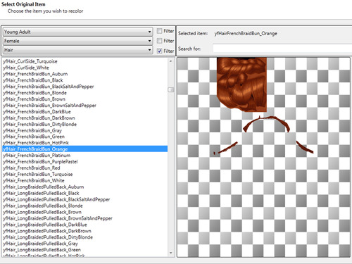 Sims 4 Retexturing hair for TS4 tutorial at B eatris