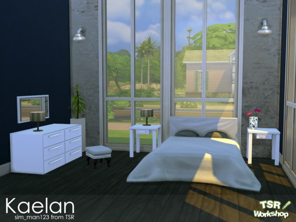 Kaelan bedroom by sim man123 at tsr sims 4 updates for Bedroom simulator