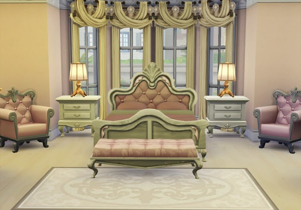 Bedroom at rosedustsim blog sims 4 updates for Bedroom designs sims 4
