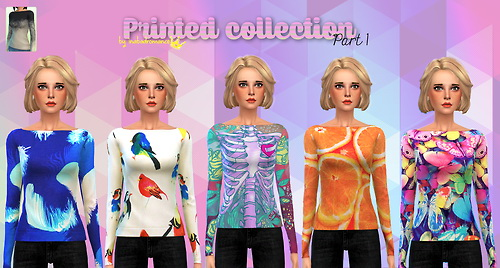 Sims 4 Backless Sweater at In a bad Romance