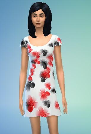Modern dress by Schnuffi1982 at Sims Marktplatz image 846 Sims 4 Updates