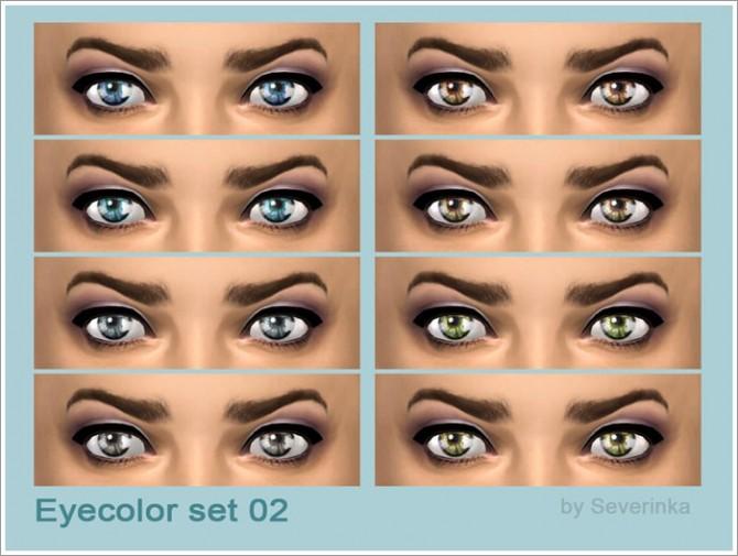 Eyecolor set 02 at Sims by Severinka image 8626 Sims 4 Updates