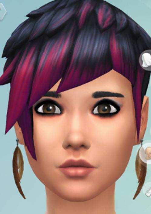 Sims 4 Flapper Inspired Eyeshadow at Jongarakun's Junk