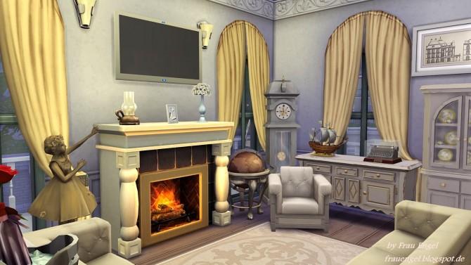 Sims 4 White Shabby Cottage at Frau Engel