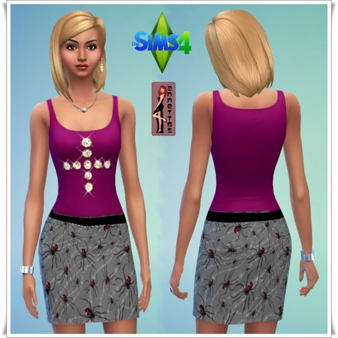 Party Outfit 1 at Annett's Sims 4 Welt image 8826 Sims 4 Updates