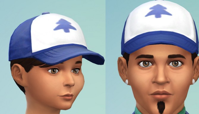 Dipper's Hat at Jongarakun's Junk image 891 Sims 4 Updates